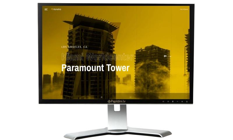 Mājas lapu izstrāde būvdarbu, celtniecības uzņēmumam.