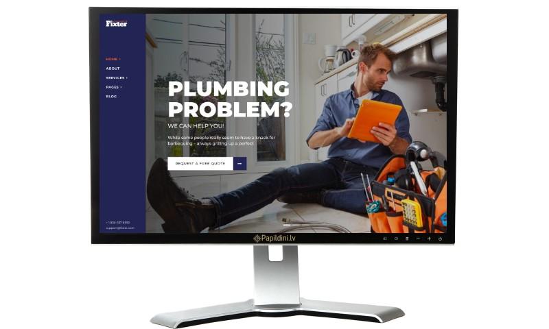 Mājas lapas izstrāde uzņēmumam, dizains № 48