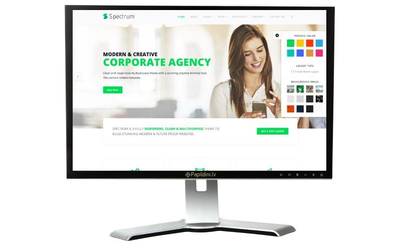 Mājas lapu, seo optimizācijas izstrāde, aģentūrai. Mājas lapu izstrāde