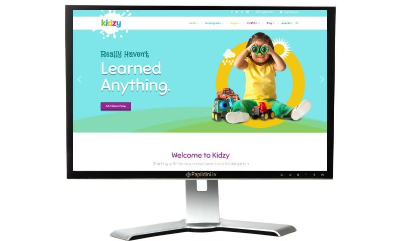 Mājas lapu izstrāde ar SEO. Pirmsskolas, mācību iestādēm.