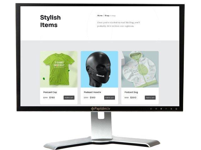 Interneta kataloga mājas lapas izstrāde. Web dizains Nr. 11