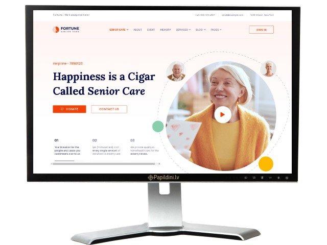 Разработка веб сайта для бизнеса, дизайн № 14