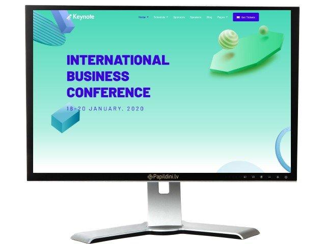 Mājas lapas izstrāde uzņēmumam, dizains № 24