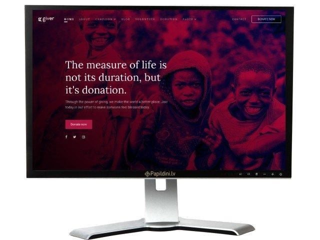 Mājas lapu izstrāde. Web dizains № 37