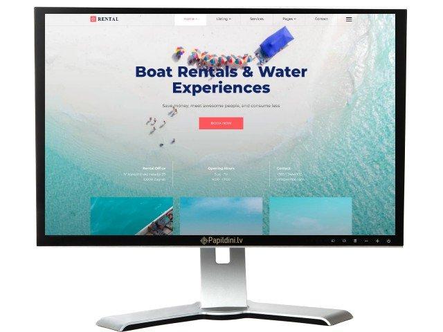 Interneta portāla mājas lapas izstrāde. Web dizains Nr. 46