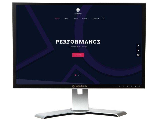 Mājas lapas izstrāde uzņēmumam, dizains № 64
