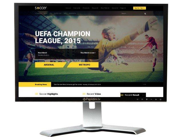 Interneta portāla mājas lapas izstrāde. Web dizains Nr. 80