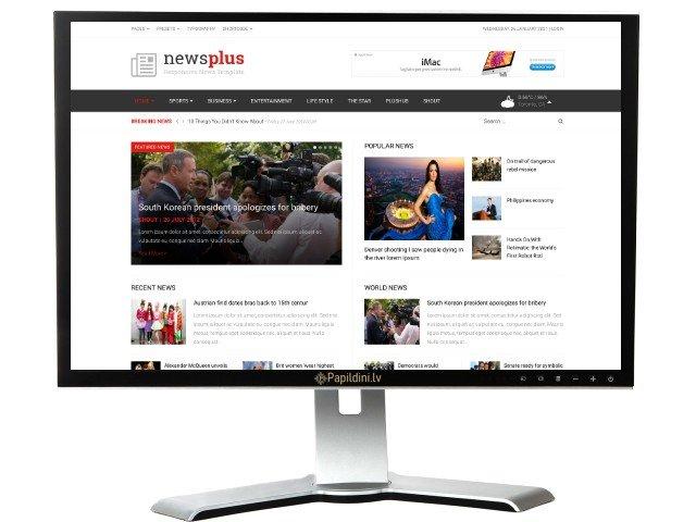Interneta portāla mājas lapas izstrāde. Web dizains Nr. 88