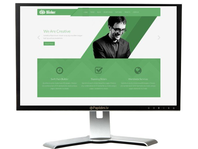 Mājas lapas izstrāde uzņēmumam, dizains № 89