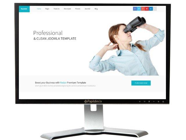 Mājas lapas izstrāde uzņēmumam, dizains № 91