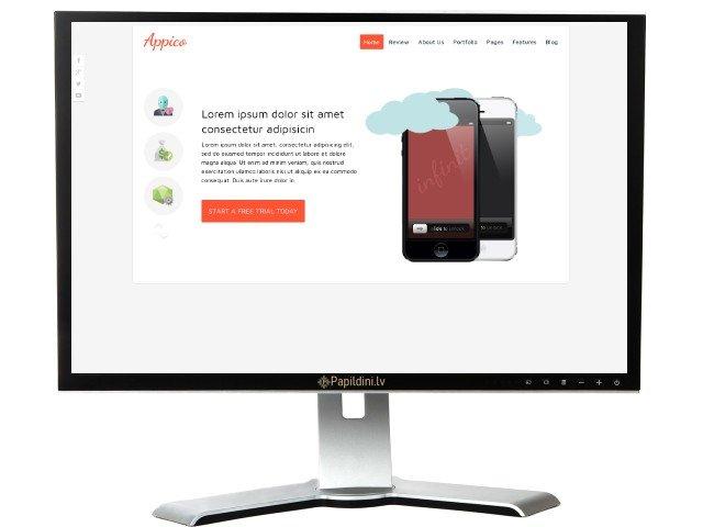 Mājas lapas izstrāde uzņēmumam, dizains № 99