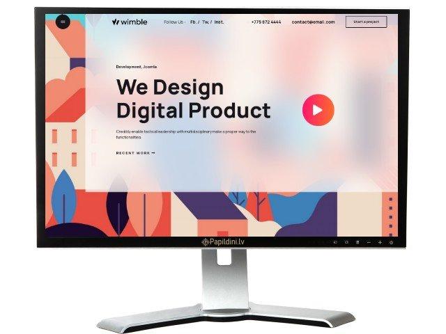 Разработка сайта для бизнеса, дизайн № 13
